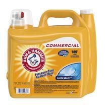 Arm & Hammer 33200-00106 Dual HE Liquid Laundry Detergent Clean Burst 210 oz (Pack of 2)