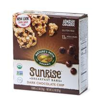 Nature's Path Organic Gluten Free Chewy Granola Bars, Dark Chocolate Chip, 6.2 Ounce Box