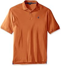 U.S. Polo Assn. Men's Big and Tall Big & Tall Solid Interlock Polo Shirt