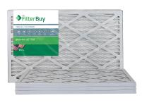 FilterBuy 17x22x1 MERV 13 Pleated AC Furnace Air Filter, (Pack of 4 Filters), 17x22x1 – Platinum