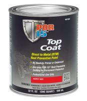POR-15 46104 Top Coat Safety Red Paint 32. Fluid_Ounces
