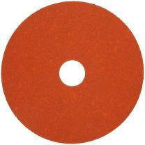 "Norton SG Blaze F980 Abrasive Disc, Fiber Backing, Ceramic Aluminum Oxide, 7/8"" Arbor, 4-1/2"" Diameter, Grit 36 (Box of 25)"