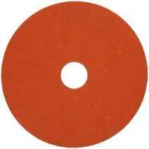 "Norton SG Blaze F980 Abrasive Disc, Fiber Backing, Ceramic Aluminum Oxide, 7/8"" Arbor, 7"" Diameter, Grit 60 (Box of 25)"