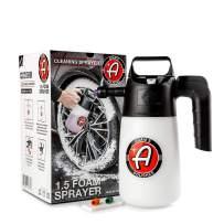 Adam's Foaming Pump Sprayer (35oz) - Pressure Foam Sprayer For Car Cleaning Kit, Car Wash, Car Detailing   Fill With Car Wash Soap Wheel Cleaner Tire Cleaner   Water Sprayer Lawn Garden Weed Sprayer