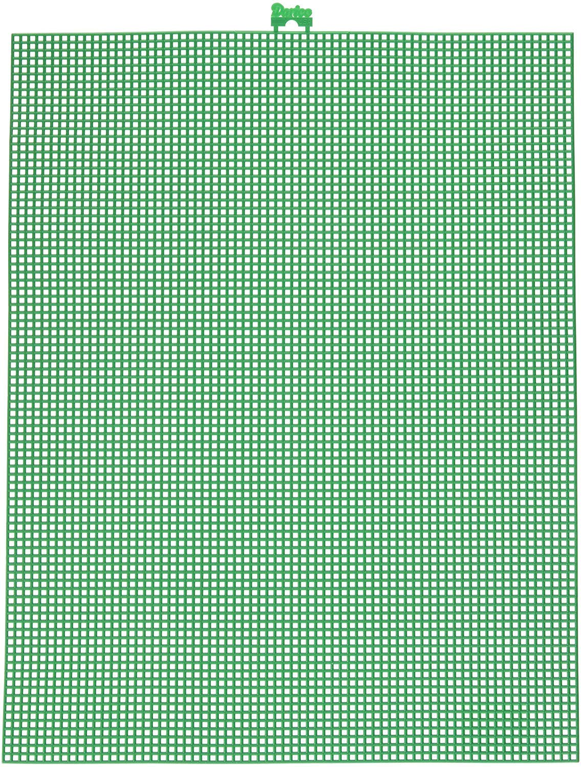 """Darice 7 Mesh Christmas Green Plastic Canvas – Create a Variety of Fun Plastic Canvas Crafts Including Bookmarks, Picture Frames, Pins and More – 1 Sheet, 7 Holes Per Inch, 10.5""""x13.5"""" Per Sheet"""