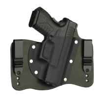 FoxX Holsters Springfield XDM 3.8 9/40/45 in The Waistband Hybrid Holster Tuckable, Concealed Carry Gun Holster