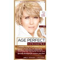 L'Oreal Paris Age Perfect Permanent Hair Color, 9N Light Natural Blonde, 1 kit