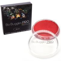 Bo Buggles Professional Red 32g Face Paint, Classic Colors, Water Activated