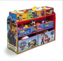 Delta Children Deluxe 9-Bin Toy Storage Organizer, Nick Jr. PAW Patrol