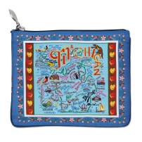 Catstudio Pattern Michigan Zipper Pouch & Coin Purse | Holds Your Phone, Pencils, Makeup, Dog Treats, Tech Tools | Great for Travel, Women, Men, Girls, Boys