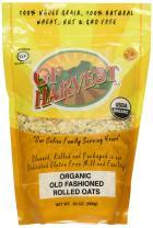 GF Harvest Gluten Free Certified Organic Rolled Oats, Non GMO, 20 oz Bag, Non-GMO, Certified Organic, 6 Count