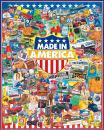White Mountain Puzzles Made In America - 1000 Piece Jigsaw Puzzle