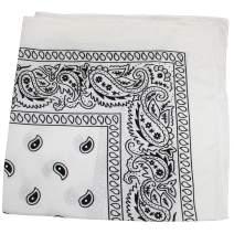 5 Pack Mechaly Dog Bandana Neck Scarf Paisley 100% Polyester Double Sided Bandanas - Any Pets