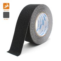 Anti Slip Adhesive Tape, Atemto Non Skid Abrasive Safety Tape 2inch 33ft Traction Heavy Duty Industry Grade Anti-Slip Anti-Skid Tape Grit Tape for Stairs Porch Bathroom Kids The Old (5cm, Black)