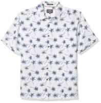Quiksilver Waterman Men's Mini Palms Button-Down Shirt