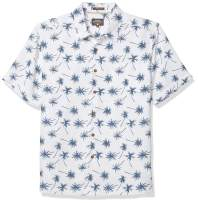Quiksilver Waterman Men's Mini Palms Button-Down Shirt