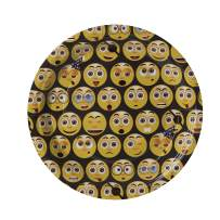 Emoji Party Paper Plates 7 inches (50 Pack) - Disposable Birthday Party Favor Ideal for Parties, Family Dinner, Special Events (50 Pack)