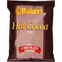 Baker's Hot Cocoa Mix (2 lbs Bags, Pack of 12)