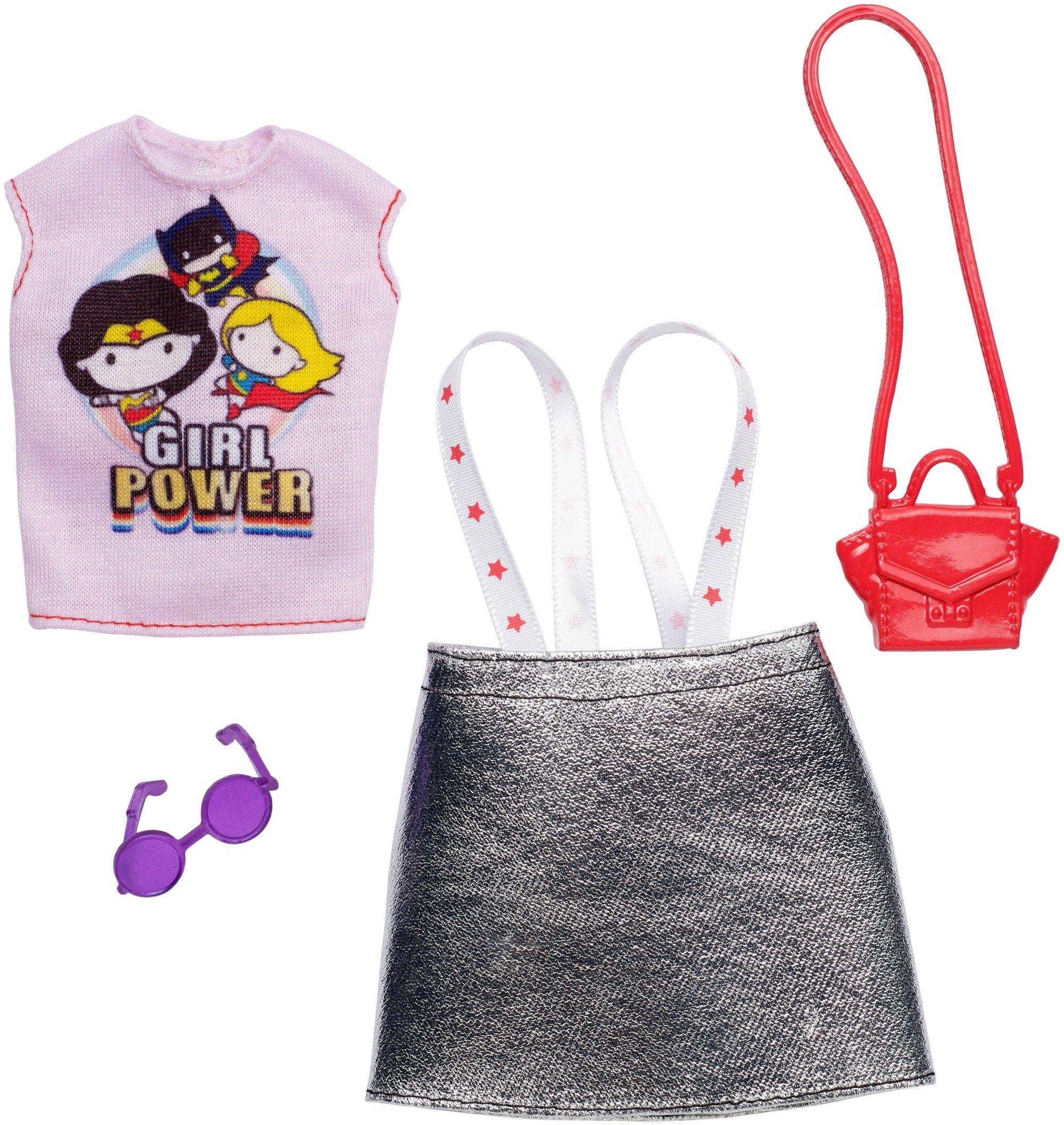 Barbie DC Comics Girl Power Fashion Pack