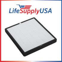 LifeSupplyUSA 5 Pack Replacement Filter Kit Compatible with Surround Air XJ-3100SF for Intelli-Pro 3-Air Purifier