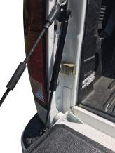 Beech Lane Tailgate Assist, Fits Dodge Ram Trucks 2009-2018, 2019 Classic Body, No Frustrating Nutsert, Upgraded for Fast and Easy Installation, Proprietary Attachment Hardware (Black)