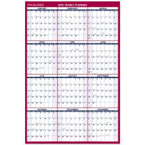 "AT-A-GLANCE 2019 Erasable Wall Calendar, 48"" x 32"", Jumbo, Dry Erase, Reversible, Vertical/Horizontal (PM32628)"