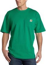 Carhartt Men's K87 Closeout Workwear Pocket Short Sleeve T-Shirt (Regular and Big & Tall Sizes)