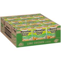 Maruchan Instant Lunch Lime Chicken Flavor, 2.25 Oz, Pack of 12