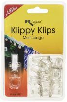 RV Designer M111, Klippy Klips Awning Clips, Light Hangars, 10 Per Pack,Clear