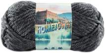 Lion Brand Yarn 135-150 Hometown Yarn, Chicago Charcoal (1 Skein)