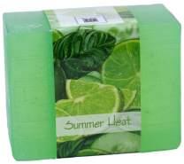 N Nabila K Vegetable Glycerin Bar Soap, Summer Heat, Single Bar, 4.5oz/127.5g each