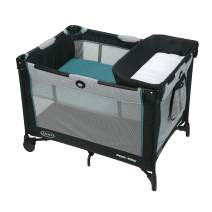 Graco Pack 'n Play Simple Solutions Playard | Includes Integrated Diaper Changer, Darcie