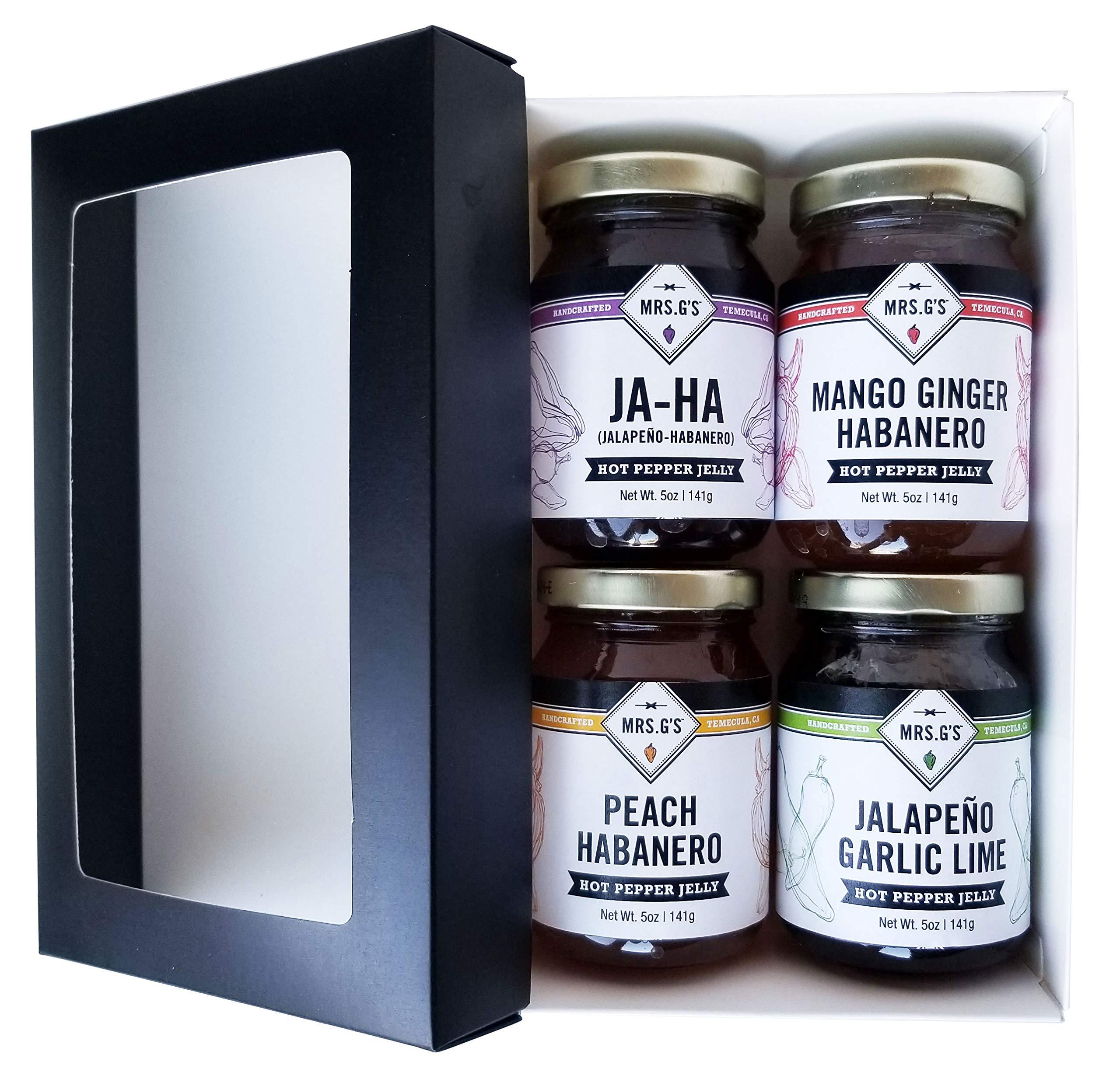Mrs. G's Pepper Jellies Sampler Gift Box