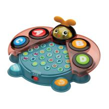 Infantino Alphabet & Colors Learning Beetle