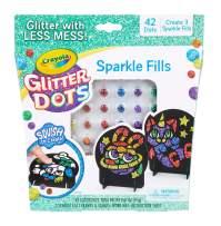 Crayola Glitter Dots, Glitter Art Mosaics, Gift for Kids, 5, 6, 7, 8