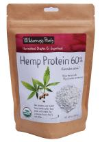 Wilderness Poets, Cold Pressed Organic Hemp Protein Powder, 19 G (8 Ounce)