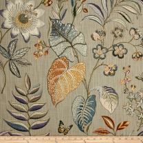 P Kaufmann Butterfly Trail Platinum Fabric by The Yard