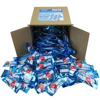 Airheads Candy Bulk - Air Heads Mini Bars Blue Rasberry - Blue Candy - Chewy Fruit Candies Party Box 6x6x6 Family Size - 3 LBS