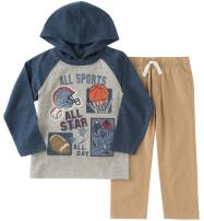 Kids Headquarters Baby Boys' Jersey Tee Pant Set