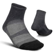 Feetures Unisex Elite Max Cushion Quarter Sock