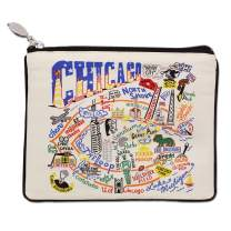 Catstudio Chicago Zipper Pouch & Coin Purse | Holds Your Phone, Pencils, Makeup, Dog Treats, Tech Tools | Great for Travel, Women, Men, Girls, Boys