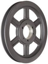 "Martin 1 B 94 SDS V-Belt Drive Sheave, A/B Belt Section, 1 Groove, SDS Bushing required, Class 30 Gray Cast Iron, 9.75"" OD, 2545 max rpm, A - 9/B - 9.4"" Pitch Diameter"