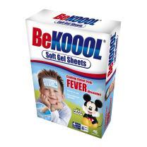 BeKoool Soft Cooling Gel Sheets for Kids, 4 Count