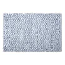 DII Contemporary Reversible Machine Washable Recycled Yarn Area Rug for Bedroom, Living Room, and Kitchen, 2'x3', Diamond French Blue