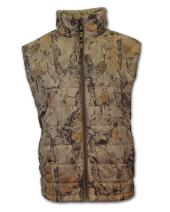 Natural Gear Synthetic Down Vest, Camouflage Hunting Gear for Men