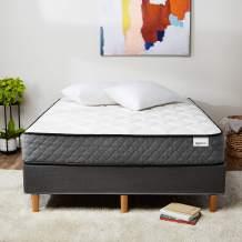 AmazonBasics Premium Hybrid Mattress - Medium Feel - Memory Foam - Motion Isolation Springs - 12-Inch, Cal King