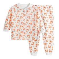 KuKaVeela Baby Pajamas Sets Boy Girl Cute Sleepwear 2-Piece PJ Set Home Wear 3M-24M