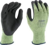West Chester 713KSSN/M 13g Kevlar/Steel Cut Resistant Glove, Green, Medium (Pair of 12)