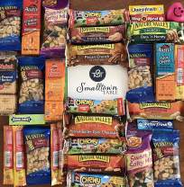 College Care Package Snack Pack - the Perfect Snacks Variety Gift Box for Student Dorm Room Essentials - Grab and Go Bars, Trail Mix, Much More Food