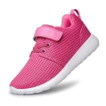 PDBQ Toddler/Little/Big Kids Shoes Boys Girls Sneakers Tennis Running Lightweight Breathable Shoes